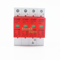 Wholesale High Voltage Protector - Wholesale-high quality SPD 420V 40KA~80KA House Surge Protector Protective Low-voltage Arrester Device 3P+N