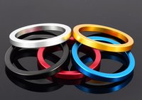 Wholesale Wholesale Metal Cock Rings - 10pcs Space Aluminum Penis Delay Ring Metal Cock Ring Cockring Glans Penis Delay Ring Sex Toys For Men A049