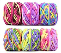 Wholesale Wholesale Soccer Scarves - Souvenirs Handmade scarf woollen thread special special baby baby thread woven round neck line hook slipper bar line bag mail