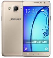 orijinal çift sim cep telefonları toptan satış-Yenilenmiş Orijinal Samsung Galaxy On7 G6000 Unlocked Cep Telefonu Quad Core 16 GB 5.5 Inç 13MP Çift SIM 4G LTE