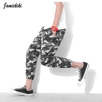 Wholesale Camouflage Harem Pants Plus Size - Wholesale-Plus Size S-5XL Men's Harem Pants The High Street Fashion Hip Hop Sports Ankle-length Pants Outdoor Military Camouflage