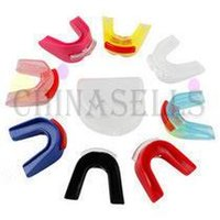 Wholesale Wholesale Karate - karate kickboxing dental braces basketball boxing sports mouthguard sanda Teeth dental braces mouth guard Protective Gear Support