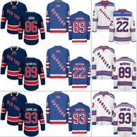 Wholesale Boys New York - Youth New York Rangers Jersey 40 Michael Grabner 89 Pavel Buchnevich 93 Mika Zibanejad 73 Brandon Pirri Custom Hockey Jerseys Mix Order