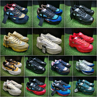 Wholesale Bunny Flats - 2017 New Consortium Ozweego 2 3 Training Sneakers Unisex Chalk White Multi Bunny Cream Lucora Green Running Shoes Size 36-45