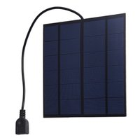 Wholesale solar panel usb output for sale - Group buy 10Pcs W V Polycrystalline Solar Cell Panel with USB Output Regulator PET Encapsulate Solar Cell for iphone Samsung Cell Phone