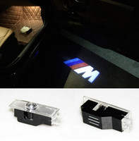 Wholesale Door Led Laser Welcome Projector - Led Emblem Car Door Ghost Shadow LED Lights Logo Projector Laser Welcome Lamp FOR BMW E60 E63 E90 E92 E93 X1 X3 X5 X6 M3 M5