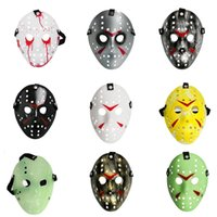 New Jason Mens Mask Mardi Gras Masquerade Halloween Costume Party MASCHERE