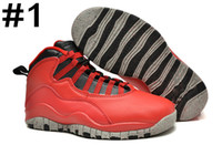 Wholesale Rhinestone Bull - Retro 10 X Bulls Over Broadway Basketball Men Shoes Retro 10s Sports Shoe Training Boots Running Sneakers Athletics Cheap Online outlet