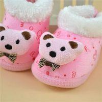 Wholesale Crochet Boys Slippers - Infant Shoes Baby Shoes Kids Shoes Crochet Shoes 0~24 Months Unisex Baby Girl Boy 3D Cartoon Slipper Boots Anti-Slip Sock Shoes Fashion Soft
