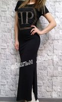 Wholesale maxi sales - 2016 summer new style 100% cotton good quality letters hot drilling dress stock sale