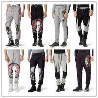 Wholesale Athletic Hip Hop Dance - 2017 new Casual Harem Pants Athletic Hip Hop Dance Sporty Hiphop Mens Sport Sweat Pants Slacks Loose Long Man Trousers Sweatpants