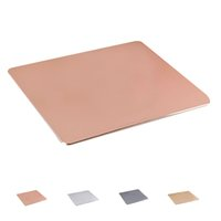 Wholesale S5Q High Quality Skid Waterproof Fashion Durable Ultrathin Metal Matte Mouse Pad AAAGES