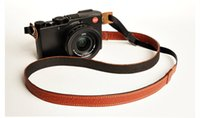 Wholesale Dslr Leather - new Pure Handmade pure leather camera strap DSLR SLR universal Four colors available