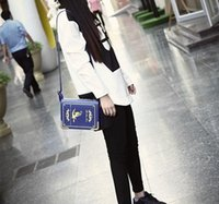 Wholesale Black Dictionary - Dictionary Shape Crossbody Bag Retro PrintIing Women Shoulder Bags Handbags 3 Colors Option