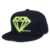 Wholesale Cappello Hip Hop - Snapback Diamond Cap Cappello Hip Hop Hats 5 Panel Flat Caps Z-1520