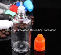 Wholesale Plastics Bottle Manufacturing - Cheap Price 50ML Plastic Empty PET bottles Manufactures 50ml Clear Dropper Bottle For E liquid E juice Oil With Childproof Cap