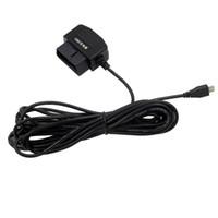 adaptador de cámara de video al por mayor-Adaptador de cable de carga de alta calidad OBD2 OBD II para el coche DVR, OBD2 a USB Micro Conector DVR Cámara de Video Digital GPS