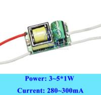 Wholesale 3w Power Led Driver - Constant Current Led Transformer LED power Supply 5w LED Driver 5W 300mA 3W 3x1W 4W 4x1W 5x1W AC 85V 110V 220V 265V