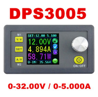 Wholesale Digital Supply Voltage - Wholesale-DPS3005 Programmable Power Supply module buck Constant Voltage current Step-down Voltage converter regulator color LCD 50% off