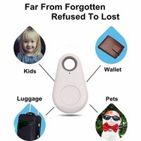 Wholesale gps locate - YKS028 Anti Lost Smart Bluetooth 4.0 Tracer GPS Locator Tag Pet Tracker Children Keys Wallet Cars Finder Locating with battery