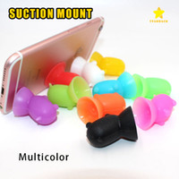 Wholesale silicone sucker phone holder for sale – best Cellphone Mounts Stand Holder Lovely Cartoon Silicone Piggy Cellphone Sucker Bracket for All Mobile Phone iPhone Samsung