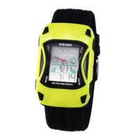 Wholesale Sports Car Meter Watch - Kids Car Square dial new LED multifunction ladies casual men's sports watches 50 meters waterproof watch male and female students For women