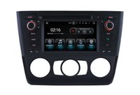 Wholesale Bmw Touch Screen Car Radio - Quad-core Android 7.1 Car DVD GPS Navigation for bmw 1 series e81 e82 e88 Touch Screen mirro link Central Multimedia