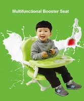 Wholesale Free gift Multifunctional baby booster seat folding high chairs children high quality baby feeding seat dining chair