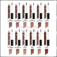 Wholesale nyx lip lingerie resale online - NYX lip lingerie liquid Matte Lip Cream Lipstick NYX Charming Long lasting Brand Makeup Lipsticks Lip Gloss colors