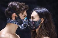 treinamento de máscara esportiva venda por atacado-Lead-out Sports Máscara Condução óssea Sem Fio Fone De Ouvido formação máscara sem fio fone de ouvido máscara de fitness para Esportes Ao Ar Livre DHL Livre