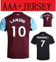 Thai qualità 17 18 <b>West Ham United</b> casa Basketball Maglie 2017 2018 FEGHOULI CARROLL SAKHO AYEW PAYET <b>West Ham United</b> Away maglia da calcio