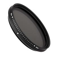 Wholesale Nd Filter Adjustable 52mm - Fotga 52mm Adjustable Neutral Density Slim Fader Variable ND Filter ND2 to ND400