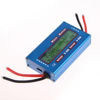 Wholesale Digital Amp Volt - Simple DC Power Analyser Watt Volt Amp Meter 12V 24V Solar Wind Analyzer order<$18no track
