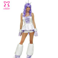 Wholesale Adult Animal Clothes - Wholesale-Unicorn Costume Carnevale Adult Women Cospaly Costumes Halloween Cosplay Animal Costume Sexy Costumes Party Carnival Clothing