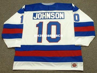 Wholesale Cheap Custom MARK JOHNSON USA K1 jerseys Olympic Throwback Men s embroidery ice hockey jersey