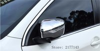 Wholesale Auto Car Rearview Mirror Cover - Car Styling ABS Chrome Door Rearview Mirror Cover Sticker Dedicated For 2014 2015 2016 NISSAN QASHQAI J11 auto accessories