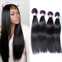 Wholesale real human hair extensions online - xblhair silky straight human hair weft real human hair extensions new raw indian human hair bundles