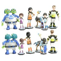 Wholesale Best Pvc Anime Model - 6pcs Anime Cartoon Miles From Tomorrowland PVC Figures Model Toys Kids Toys Action Figures Doll Toys Best Gift for CHildren