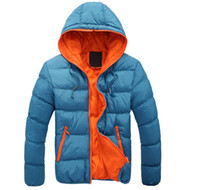 Wholesale Overcoat Jackets - Winter men jackets warm coat Mens Coat Brand Sport Jacket Winter Down Parkas Man's Overcoat