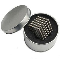 Wholesale Toy Box Puzzles - 5MM 216 Pcs Neo Cube Magic Cube Puzzle Magnetic Balls With Metal Box