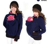 Wholesale Xl Maternity Sweater - Baby Carrying Jacket Baby Carrier Hoodie Kangaroo Coat&Jacket for Mom and Baby Wearing Hoodie Maternity Sweater