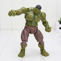 Wholesale The Avengers figure Hulk Figma Boxed PVC Action Figure Collectible Model Toy approx cm