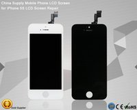 10PCS / Lot di qualità AAA per display LCD iPhone 5S Digitizer Assembly Pantalla per Iphone 5S Replacment Factory Outlet Disponibile