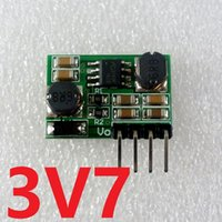 2 в 1 0.9-6V до 3.7V Auto Buck-Boost Step-UPStep-Down DC DC Converter для 18650 Solar Battery Toy Power Supply