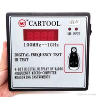 Wholesale Car Key Remote Tester - High Quality Car IR Infrared Remote Key Frequency Tester (Frequency Range 100-1000MHZ) Remote Control Digital Frequency Test CARTOOL