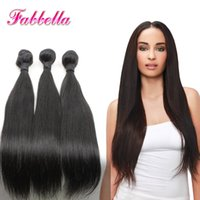 Wholesale Premium Now 18 Inch - Premium Now Brazilian Silky Straight Remy Human Hair Weft Remy Hair Extensions Natural Black No Chemical Processed Soft Hair 9A For Lady