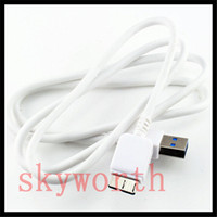 s3 micro usb cable venda por atacado-Cabos de Cabo de Carregador Micro USB 3.0 Fio de Dados de Sincronização 1 M / 3FT Para Samsung S3 S4 S5 S6 S7 Nota 3 4 5