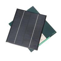 Wholesale solar 18v - 5W 18V Polycrystalline Solar Panel Cell Solar Module Solar Charger For 12V Battery Charger