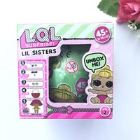 Wholesale Doll American Girls - american Girls Dolls LOL Surprise Lil Sisters Series 2 Lets be Friends Action Figures Toys Baby Doll with retail box Kids Gifts DHL
