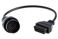 Wholesale benz pin resale online - for Mereceds pin to Pin Adapter Cable for benz obd1 to obd2 Connector cable